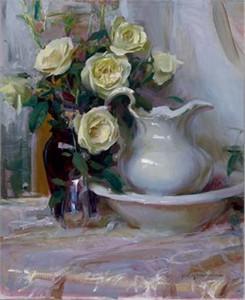 "Daniel F. Gerhartz Limited Edition Iris Graphic: "" French Lace """