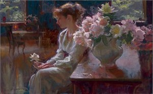 "Daniel F. Gerhartz Limited Edition Iris Graphic: "" The Moment """