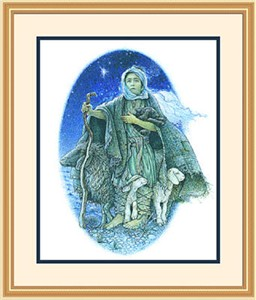 "Framed Art:""O Holy Night by Richard Jesse Watson"""