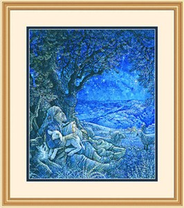 "Framed Art:""Starry Night by Richard Jesse Watson"""