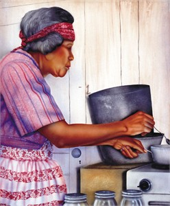 """Terry Wilson Hand Signed and Numbered Limited Edition Giclee: """"Granny"""""""