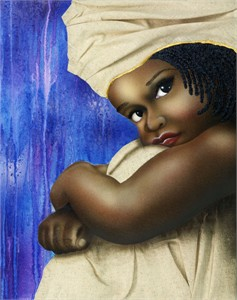 "Terry Wilson Hand Signed and Numbered Limited Edition Canvas Giclee: ""Miss Precious"""