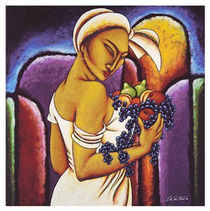 """LaShun Beal Hand Signed and Numbered Limited Edition Print:""""Fruitful"""""""
