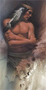 "Lee Bogle Handsigned and Numbered Limited Edition Print:""Brave Spirit"""