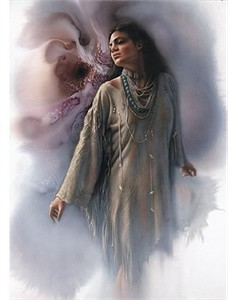 """Lee Bogle Handsigned and Numbered Limited Edition Print:""""Inner Peace"""""""