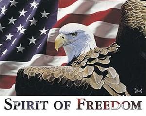 "Al Agnew Open Edition Print:""Spirit of Freedom"""