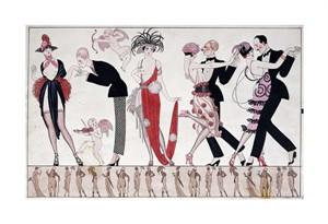 "Georges Barbier Fine Art Open Edition Giclée:""The Tango"""