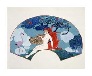 "Georges Barbier Fine Art Open Edition Giclée:""Eve"""