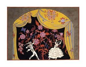 "Georges Barbier Fine Art Open Edition Giclée:""The Flamenco"""