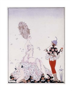 "Georges Barbier Fine Art Open Edition Giclée:""Mother Nature"""