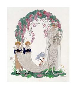 """Georges Barbier Fine Art Open Edition Giclée:""""The Bride"""""""