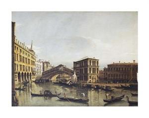 """Bernardo Bellotto Fine Art Open Edition Giclée:""""The Grand Canal, Venice"""""""