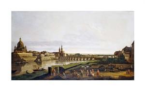 "Bernardo Bellotto Fine Art Open Edition Giclée:""A View of Dresden"""