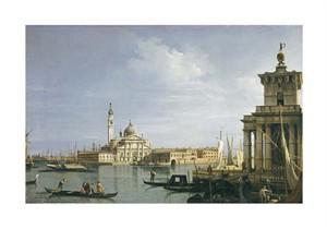 """Giovanni Antonio Canal Fine Art Open Edition Giclée:""""The Island of San Giorgio Maggiore, Venice"""""""