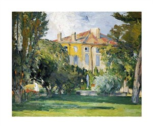 "Paul Cezanne Fine Art Open Edition Giclée:""The House at Jas De Bouffan"""