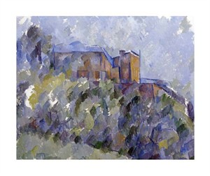 "Paul Cezanne Fine Art Open Edition Giclée:""The Black House"""