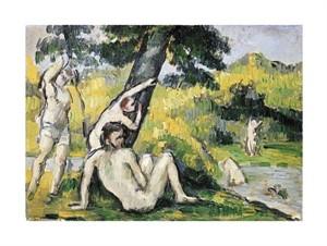"""Paul Cezanne Fine Art Open Edition Giclée:""""Bathing"""""""