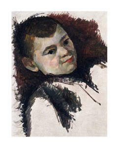 "Paul Cezanne Fine Art Open Edition Giclée:""Portrait of Paul Cezanne, Son of the Artist"""