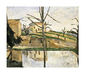 """Paul Cezanne Fine Art Open Edition Giclée:""""Le Bassin du Jas de Bouffan"""""""