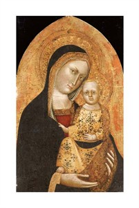 "Giovanni Di Nicola Da Pisa Fine Art Open Edition Giclée:""The Madonna and Child"""