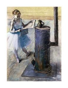 """Edgar Degas Fine Art Open Edition Giclée:""""Dancer Resting"""""""