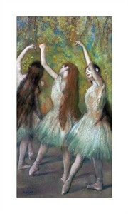 "Edgar Degas Fine Art Open Edition Giclée:""Green Dancers"""