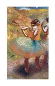 "Edgar Degas Fine Art Open Edition Giclée:""Two Dancers in Green Skirts"""