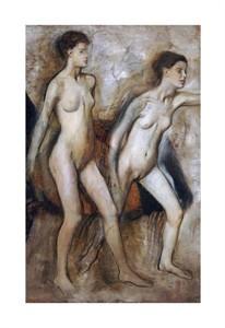 """Edgar Degas Fine Art Open Edition Giclée:""""Young Spartan Girls Provoking the Boys"""""""