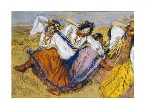 """Edgar Degas Fine Art Open Edition Giclée:""""Russian Dancers"""""""