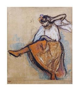 """Edgar Degas Fine Art Open Edition Giclée:""""The Russian Dancer"""""""
