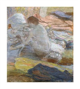 """Edgar Degas Fine Art Open Edition Giclée:""""Woman Wiping Her Feet"""""""