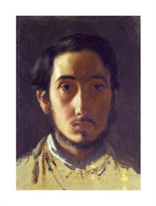 "Edgar Degas Fine Art Open Edition Giclée:""Degas Self Portrait"""
