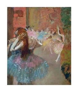 """Edgar Degas Fine Art Open Edition Giclée:""""Scene de Ballet or Balleteuses"""""""