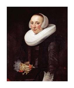 """Nicolaes Eliasz Fine Art Open Edition Giclée:""""Portrait of a Lady"""""""