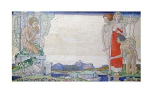 "Edward Reginald Frampton Fine Art Open Edition Giclée:""The Voice of Pan"""