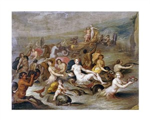 "Frans Francken II Fine Art Open Edition Giclée:""The Triumph of Amphitrite"""