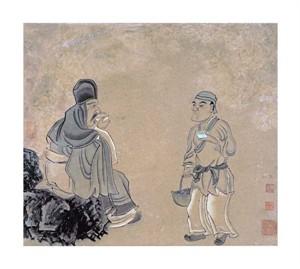 "Chen Hongshou Fine Art Open Edition Giclée:""In the Totomi Mountains"""