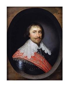 "Cornelius Johnson Fine Art Open Edition Giclée:""Portrait of Robert de Vere, the 19th Earl of Oxford"""