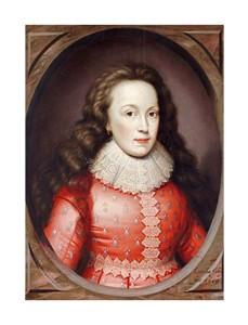 """Cornelius Johnson Fine Art Open Edition Giclée:""""Portrait of Alathea, Countess of Arundel"""""""
