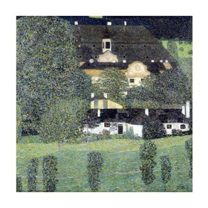 "Gustav Klimt Fine Art Open Edition Giclée:""Schloss Kammer Am Attersee II"""