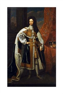 "Sir Godfrey Kneller Fine Art Open Edition Giclée:""Portrait of King William III"""