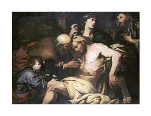 "Giovanni Battista Langetti Fine Art Open Edition Giclée:""The Good Samaritan"""