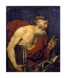 "Giovanni Battista Langetti Fine Art Open Edition Giclée:""A Philosopher"""