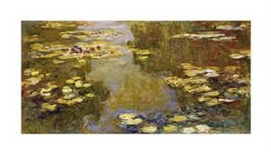 """Claude Monet Fine Art Open Edition Giclée:""""The Lily Pond"""""""