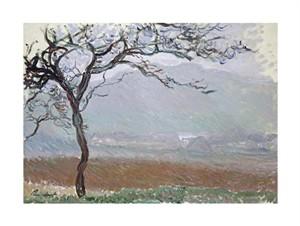 "Claude Monet Fine Art Open Edition Giclée:""Giverny Countryside"""