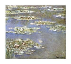 """Claude Monet Fine Art Open Edition Giclée:""""Nympheas, 1905"""""""