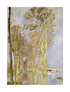"Claude Monet Fine Art Open Edition Giclée:""Inondation"""