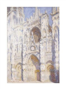 "Claude Monet Fine Art Open Edition Giclée:""Rouen Cathedral in the Afternoon (The Gate in Full Sun)"""