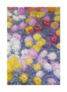 """Claude Monet Fine Art Open Edition Giclée:""""Chrysanthemums"""""""