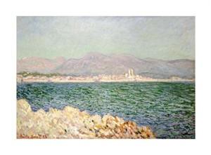 """Claude Monet Fine Art Open Edition Giclée:""""Golfe D'Antibes"""""""